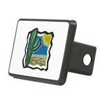 cactus scene copy.jpg Rectangular Hitch Cover
