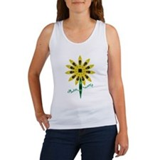 Kayak Shirt- Kayak Flower Women's Tank Top