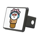 cute little girl snow cone.png Rectangular Hitch C