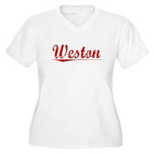 Weston, Vintage Red T-Shirt