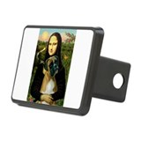 Mona Lisa & Boxer Rectangular Hitch Cover