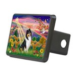 Autumn Angel/Collie Rectangular Hitch Cover