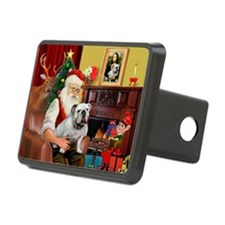 Santa's white EBD Hitch Cover