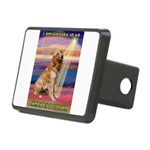 TR-Blessed-Golden1.png Rectangular Hitch Cover