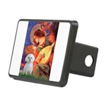 Mandolin Angel / Maltese Rectangular Hitch Cover