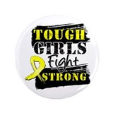 "Tough Girls Sarcoma 3.5"" Button (100 pack)"