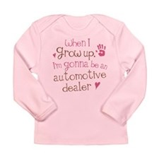 Future Automotive Dealer Long Sleeve Infant T-Shir