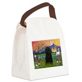 Puli in Fantasy Land Canvas Lunch Bag