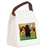 Angels & Puli Canvas Lunch Bag