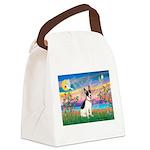 Guardian /Rat Terrier Canvas Lunch Bag