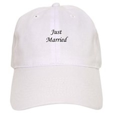 Just Married Baseball Cap