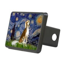 Starry Night & Saluki Hitch Cover