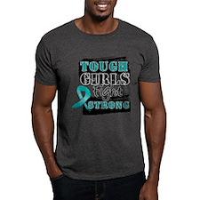 Tough Girls Ovarian Cancer T-Shirt