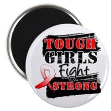 "Tough Girls Oral Cancer 2.25"" Magnet (100 pack)"