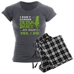 Glasses on mustache Women's Sweatpants