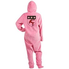 Doherty Crest Footed Pajamas