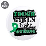 "Tough Girls Liver Cancer 3.5"" Button (10 pack)"