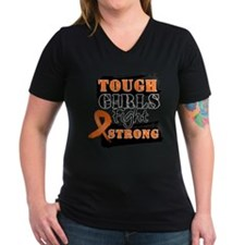 Tough Girls Leukemia Shirt