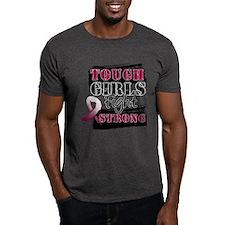 Tough Girls Head Neck Cancer T-Shirt