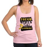 Tough Girls Ewing Sarcoma Racerback Tank Top