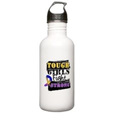 Tough Girls Bladder Cancer Water Bottle