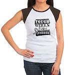 Tough Girls Carcinoid Cancer Women's Cap Sleeve T-