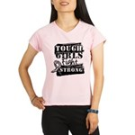 Tough Girls Carcinoid Cancer Performance Dry T-Shi