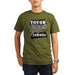 Tough Girls Carcinoid Cancer Organic Men's T-Shirt