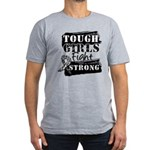 Tough Girls Carcinoid Cancer Men's Fitted T-Shirt