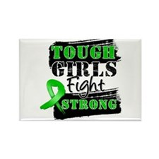 Tough Girls Bile Duct Cancer Rectangle Magnet