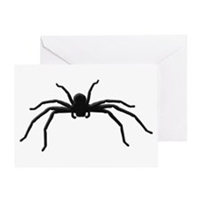 Spider silhouette Greeting Card