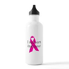 I Support 2nd Base Water Bottle