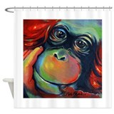 Orangutan Sam Shower Curtain