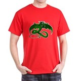Beautiful Black T Dragon Black T-Shirt