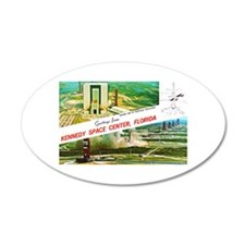 Kennedy Space Center Florida Wall Decal