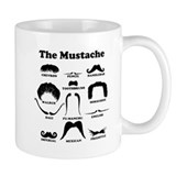 The Mustache Coffee Mug