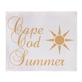Cape Cod Summer Throw Blanket