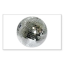 Spazzoid Disco Ball Sticker (rectangle)
