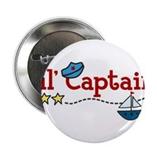 "Lil Captain 2.25"" Button"