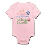 Future Biology Teacher  Baby Onesie