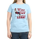 Wine Doesnt Make You Fat T-Shirt