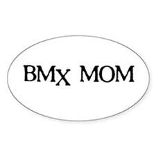 BMX Mom Oval Decal