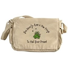 Kiss A Few Frogs Messenger Bag