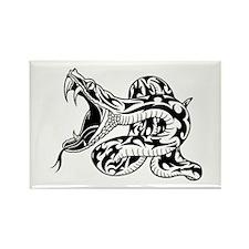 Tribal Snake Rectangle Magnet