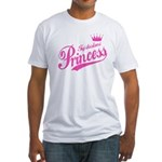 Tajikistani Princess Fitted T-Shirt
