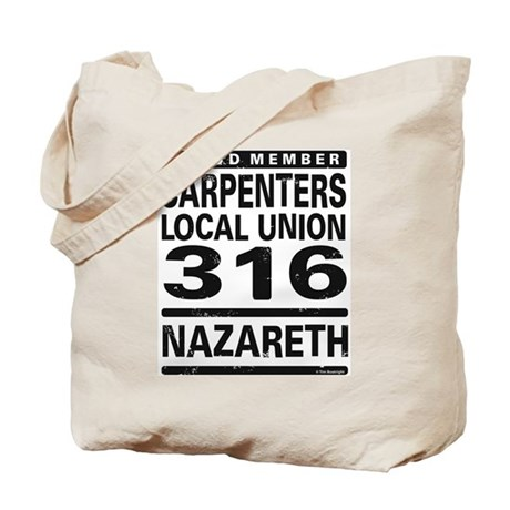 Carpenters Local Union 316 Tote Bag