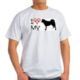 Greenland Dog Ash Grey T-Shirt