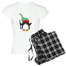 Christmas Music Penguin Pajamas
