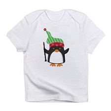 Christmas Music Penguin Infant T-Shirt
