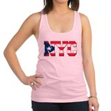 New York Puerto Rican Racerback Tank Top